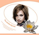 Lotus flower You are the only one