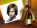 Happy New Year Feliz ano novo Champanhe MOET