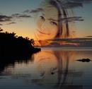 Twilight Mauritiaanse tussen zee en lucht