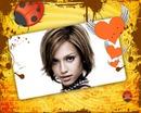 Mariquita Corazón Retro