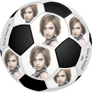 Foot ball PNG soccer with 6 pictures and personal text