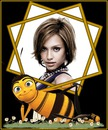 Marco infantil Abeja Bee Movie