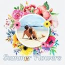 Bunga musim panas bulat
