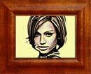 Picture Painting Wooden frame