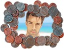Mønter Dime Dollar