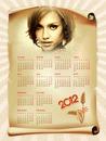 2012 kalender Pergament