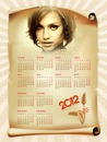 Kalenteri 2012 Pergamentti
