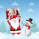 Деда Мраз и снеговик