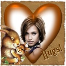 ♥ Hugs Heart Squirrels