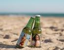 Pivá na pláži