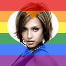 LGBT Flag may puso