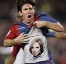 Kemeja Lionel Messi Football
