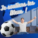 Ballon de football et texte