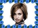 Kis kék virágok