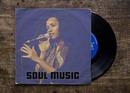 Vinylomslag 45 rpm LP-skiva