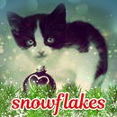 vinter sne