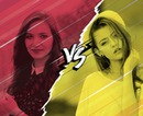 VS Red and yellow versus