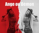 Anioł ani Demon Black and Red