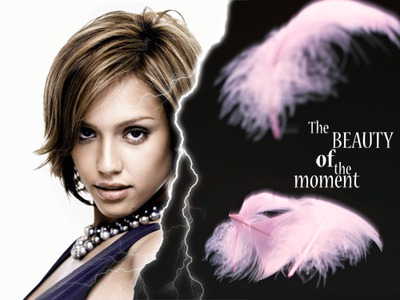 La bellezza del fulmine Feather momento