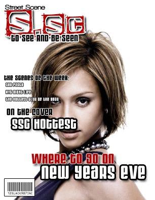 Couverture de magazine Street Scene