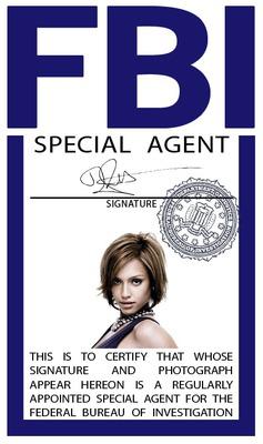 Placa FBI