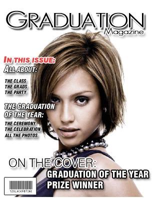 Graduation Magazine cover