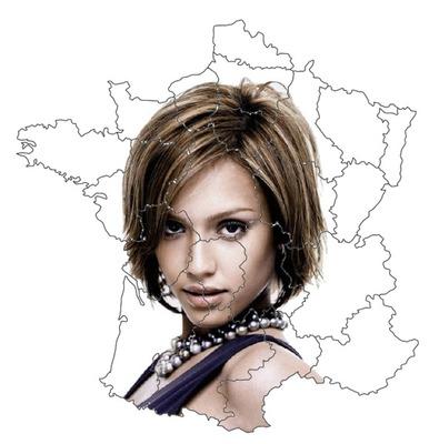 Peta dari Perancis