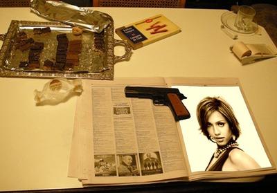 Περιοδικό Γραφείο Gun Scene