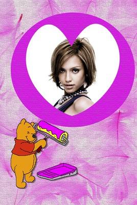 Winnie l'ourson Coeur ♥