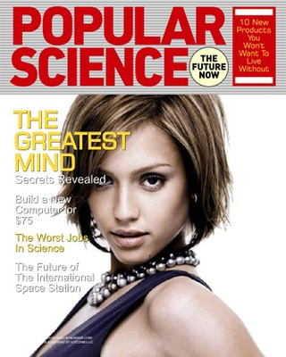 Tapa de revista Popular Science