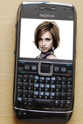 Scena del telefono cellulare Nokia Smartphone