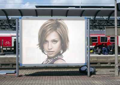 Dock station billboard Scene