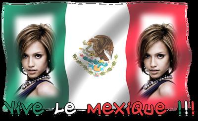 ¡Viva México! Bandera