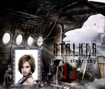 Prolog stalker sceny gier wideo czyste niebo