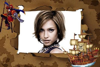 Пирати дете оквир