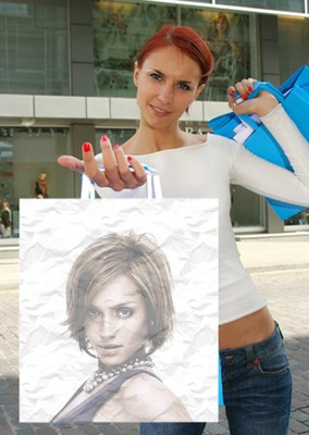 Woman Bag Scene
