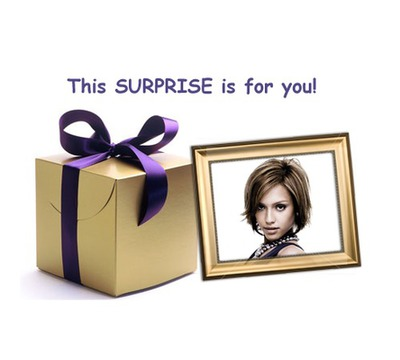 Gift This surprise is for you!