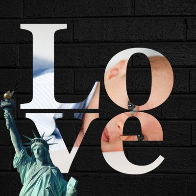 Love Statue ng Liberty