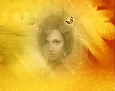 Dzeltens Izgaist Butterfly
