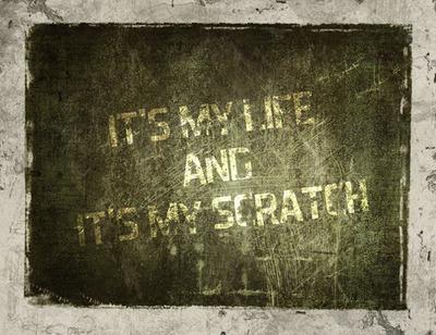 Panneau Scratch