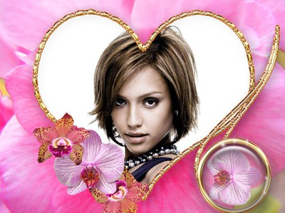 Orchid Heart ♥
