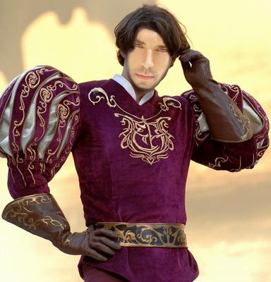 また、魅力的な王子になる!顔の男