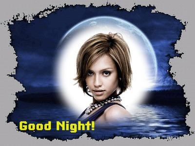 Úplněk Dobrou noc Dobrou noc