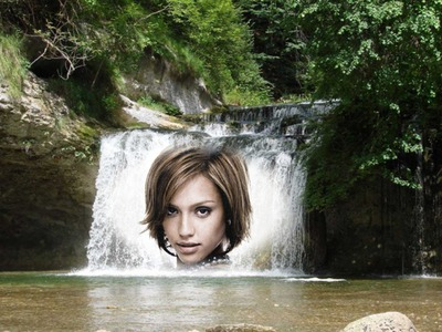 Natuur Waterval