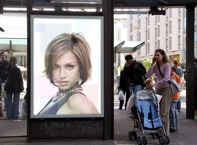 Reklama Miasto panel Scene