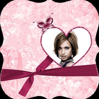Rosa hjerte ♥