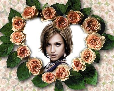 Coeur en roses ♥