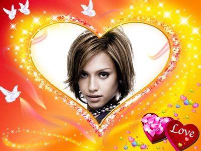 Serce ♥ Gołębie Gwiazdy