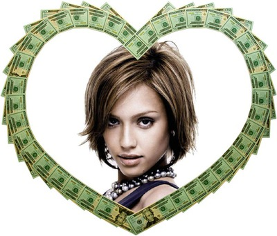 Herz in Dollar ♥