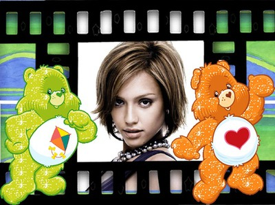 Child frame Carebears